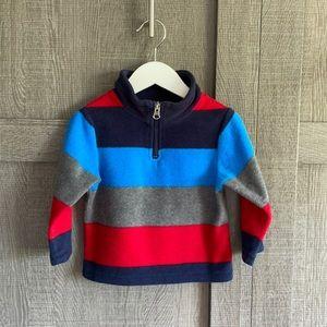 4/$24⭐️ Children's Place fleece (wide stripes)